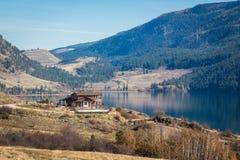 Columbia Britannica Canada di Kelowna del lago Okanagan Fotografia Stock Libera da Diritti