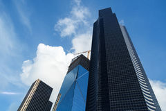 Columbia Center and The Mark construction Stock Image