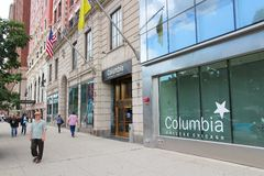 Columbia College, Chicago Stock Images