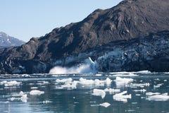 Columbia Glacier Calving Stock Image