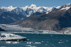 Columbia Glacier Calving Royalty Free Stock Photo