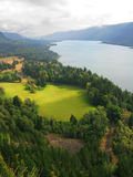 The Columbia Gorge Royalty Free Stock Photos