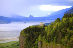 The Columbia Gorge & Vista House, OR. Stock Images