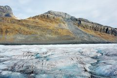 Columbia icefield Stock Photos