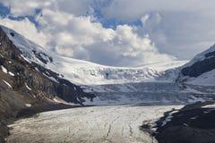 columbia icefield Arkivbild