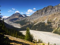 Columbia Icefield, Canadian Rockies. Columbia Icefield, Banff Jasper National Park. Canadian Rockies. Canada stock photo