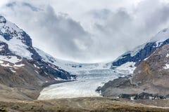 Columbia Icefield 2016 - Jasper National Park, Alberta, Canada Royalty Free Stock Image