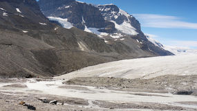 Columbia Icefield, Jasper National Park, Canada Stock Photo
