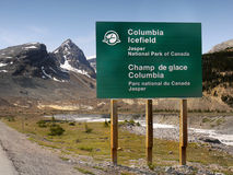 Columbia Icefield, Jasper National Park, Canada Royalty Free Stock Photography