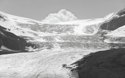 Columbia Icefield landscape in Alberta. Canada Stock Images