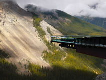 Columbia Icefields Skywalk Glacier Royalty Free Stock Photos