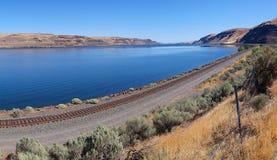 Columbia klyfta - panorama Royaltyfria Foton