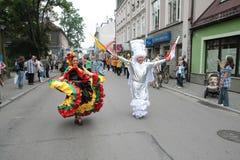 columbia ludu grupa tradycyjna obrazy stock