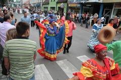 columbia ludu grupa tradycyjna zdjęcie stock