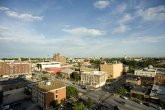 Columbia, Missouri. Five stories above Columbia, Missouri royalty free stock photography