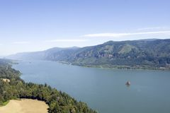 Columbia river Royalty Free Stock Photos