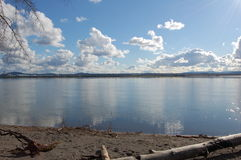 Columbia River Royaltyfri Bild