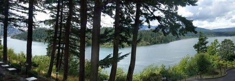 Columbia River Royaltyfri Fotografi