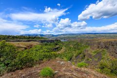 Columbia river. A beautiful view from panaroma view point Royalty Free Stock Photography