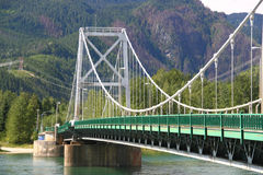 Columbia River bridge Stock Photography