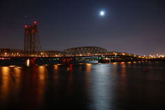 Columbia River Bridge Royalty Free Stock Images