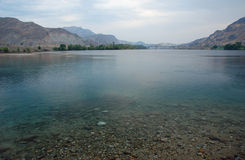 Columbia river in Chelan county Stock Photo