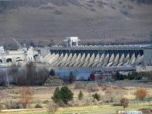 Columbia River fördämning Arkivbilder