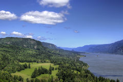 Columbia River Gorge. Scenic View from Cape Horn Lookout Royalty Free Stock Photography
