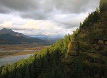 The Columbia River Gorge National Scenic Area Stock Image