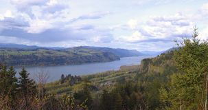 Columbia river gorge Oregon. Royalty Free Stock Images