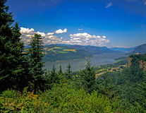 Columbia River Gorge, Oregon. Columbia River Gorge in Oregon stock photos