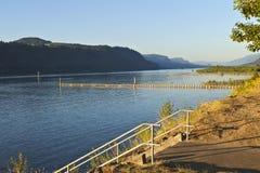 Columbia River Gorge Oregon. Royalty Free Stock Photo