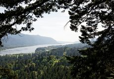 Columbia River Gorge, Pacific Northwest, Oregon Stock Photo