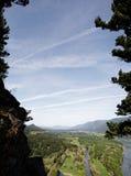 Columbia River Gorge, Pacific Northwest, Oregon Stock Image