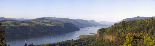Columbia River Gorge OR.,panorama. Stock Photography