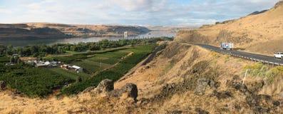 Columbia River klyfta Fotografering för Bildbyråer