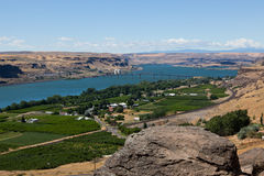 Columbia River Landscape Stock Images