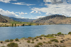 The Columbia River is the largest river in the Pacific Northwest Stock Images