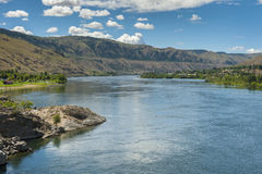 The Columbia River is the largest river in the Pacific Northwest Royalty Free Stock Images