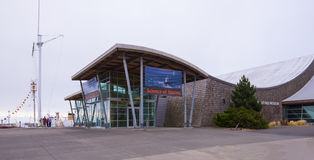 The Columbia River Maritime Musem. Astoria, OR USA - August 8th, 2017. The Columbia River Maritime Museum is a museum of maritime history located ten miles from Stock Photography