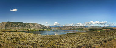 The Columbia River. Royalty Free Stock Images