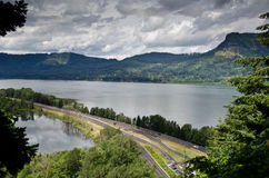 Columbia river Royalty Free Stock Images