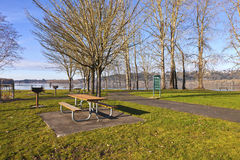 Columbia River and Oregon state parks. Stock Image