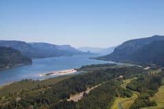Columbia River Schlucht Lizenzfreie Stockfotos
