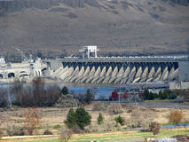 Columbia River Verdammung Stockbilder