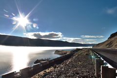 Columbia River view Royalty Free Stock Photos