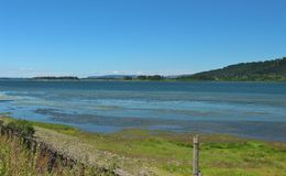 Columbia river view Royalty Free Stock Images