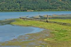 Columbia river view Royalty Free Stock Photography