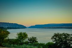 Columbia River, Washington State, USA Royalty Free Stock Images