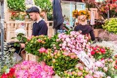 Columbia Road Flower Market royalty free stock photo